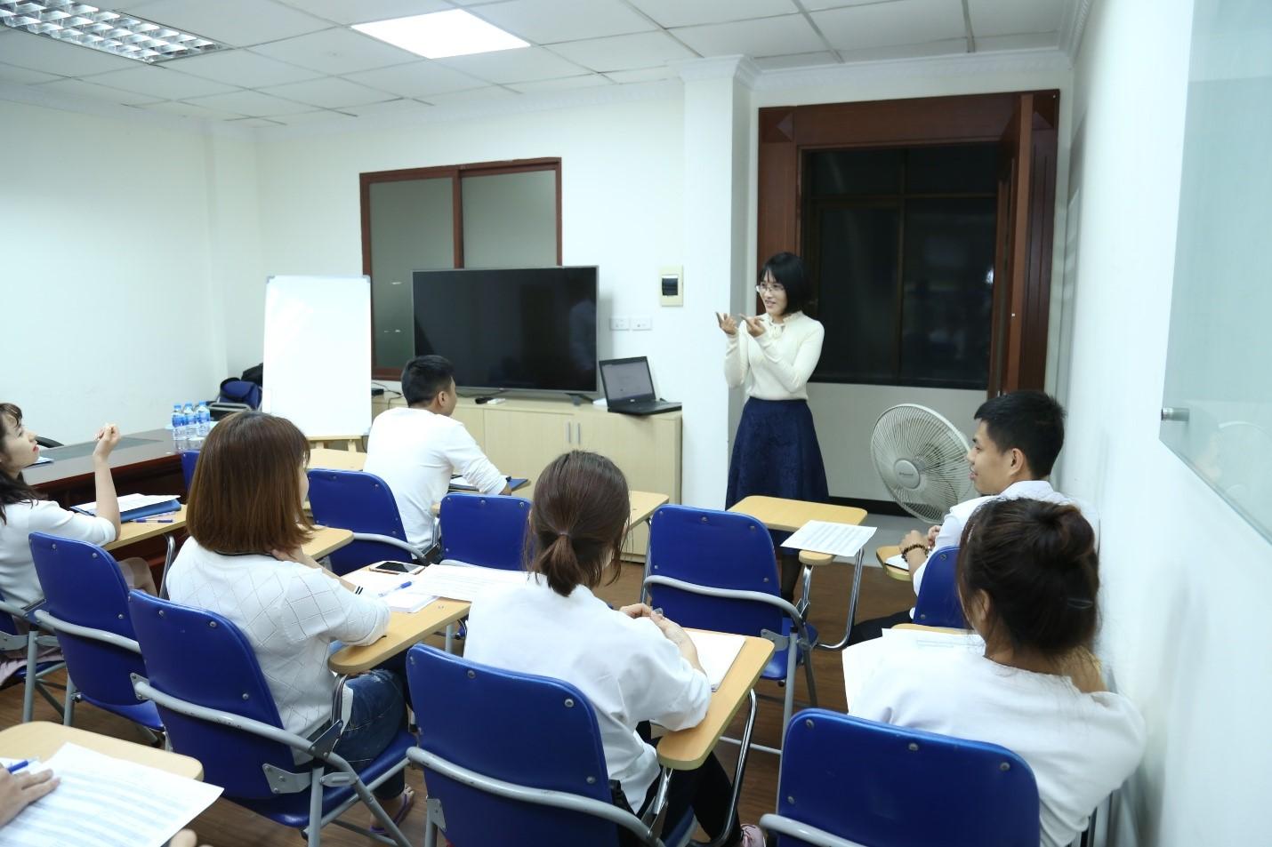 VNPAY tổ chức lớp học tiếng anh nội bộ doanh nghiệp