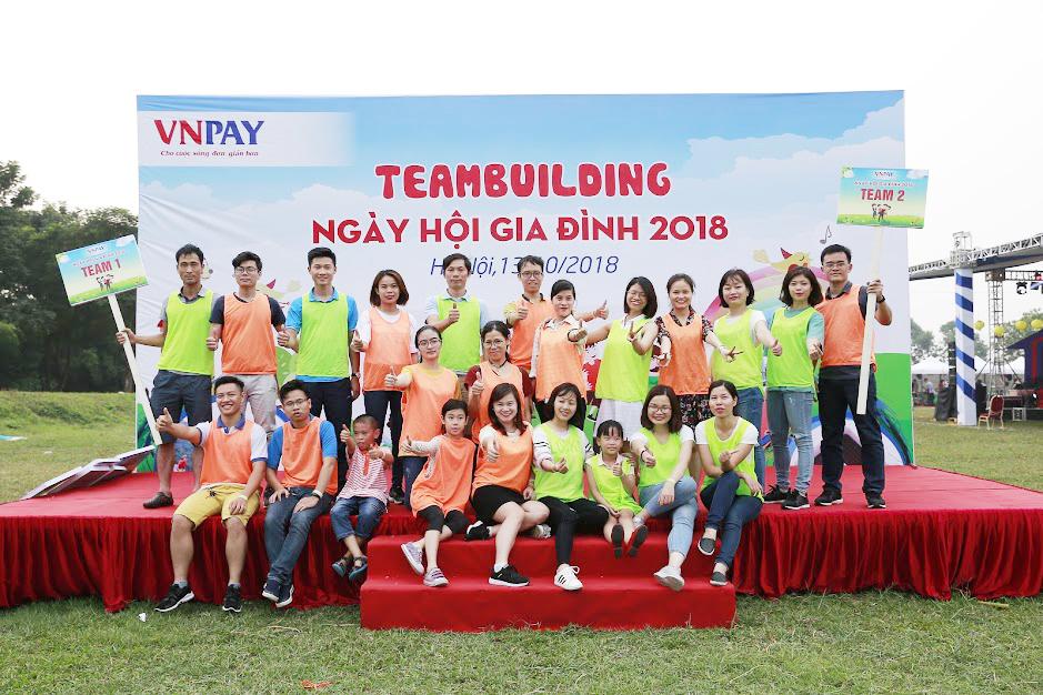 Ngày hội gia đình VNPAY 2018