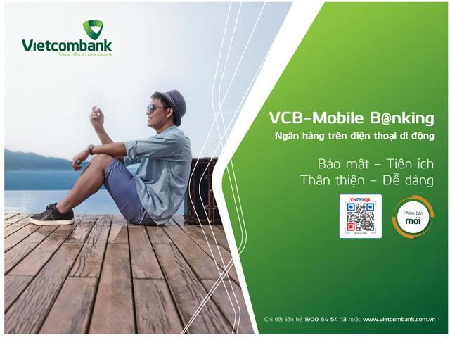 Trải nghiệm tính năng QR Pay trên ứng dụng VCB-Mobile B@nking