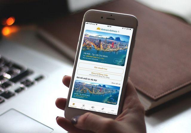 Ứng dụng Vietnam Airlines phiên bản mới, tối ưu trải nghiệm người dùng