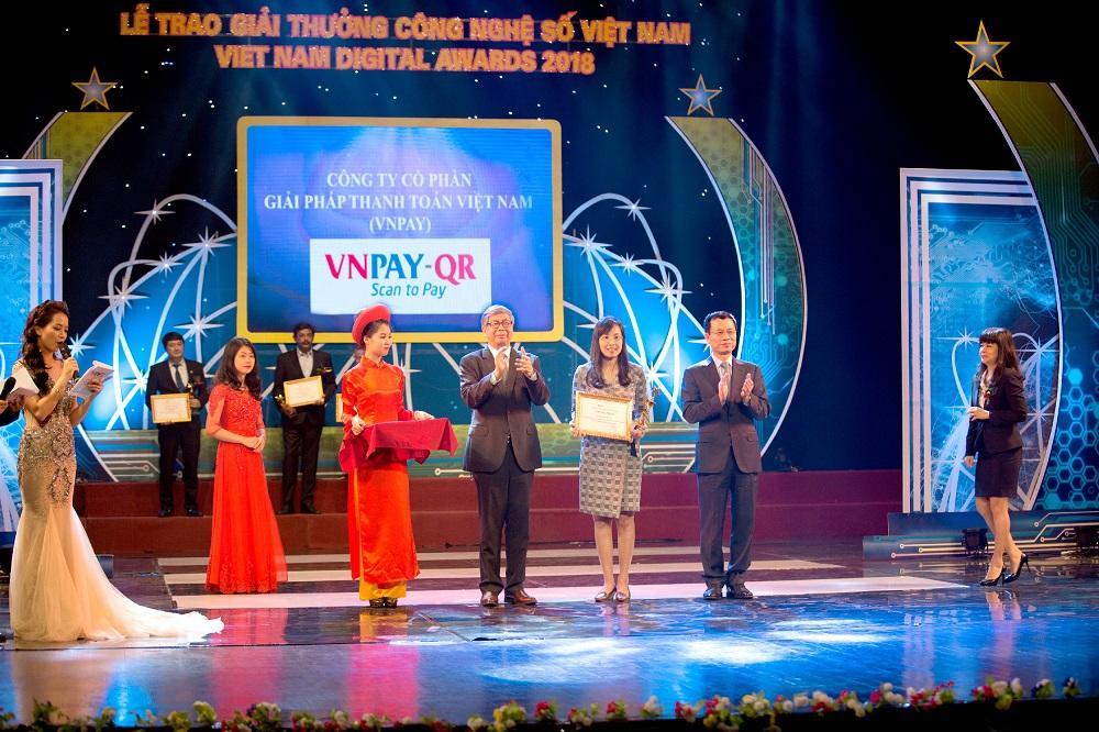 VNPAY vinh dự nhận giải thưởng Công nghệ số Việt Nam 2018